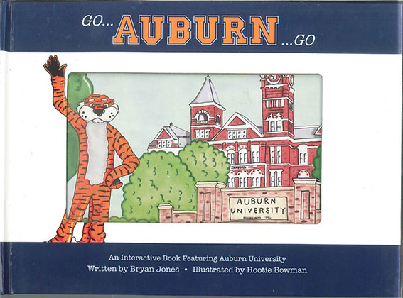 Auburn University Tigers Children's Book