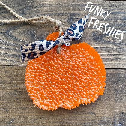 Halloween/Fall - Pumpkin Ribbon Freshies