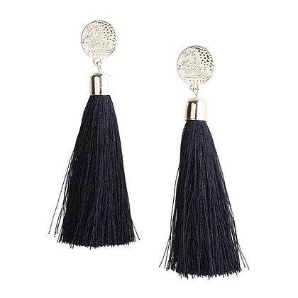Ole Miss Tassel Earrings