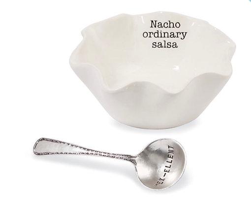 Nacho Ordinary Salsa Spoon/Cup
