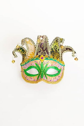 Fabric Mask with Horns