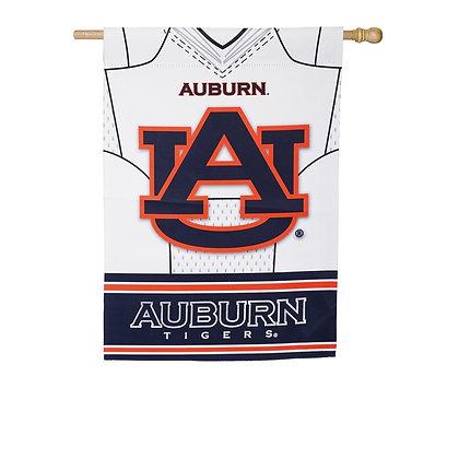 Auburn University Suede Double Sided House Flag 43x29