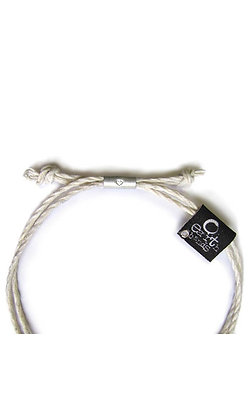 Orange Beach Bracelet - White