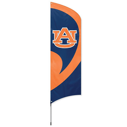 AU Tall Team Flag Kit with Pole - 11.5 Feet Tall