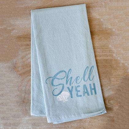 Shell Yeah Kitchen Towel 20x28