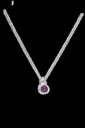 Annaleece By Devries Amethyst Essentials Necklace