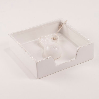 Bunny Napkin Holder 5.5x5.5