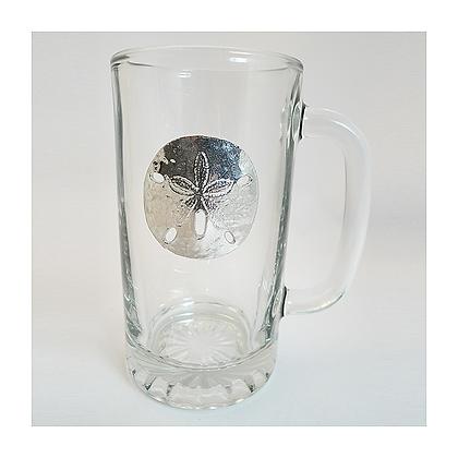 Sand Dollar Glass Stein copyright by Maurice Milleur
