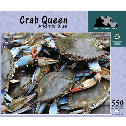 Crab Queen Jigsaw Puzzle 550 Piece