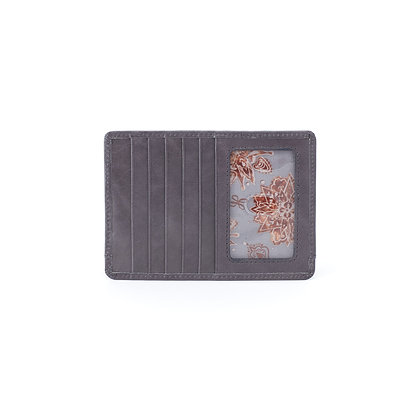HOBO EURO SLIDE Credit Card Wallet in Graphite