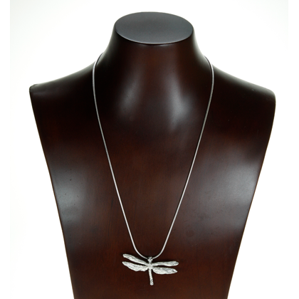 Dragonfly Necklace copyright by Maurice Milleur