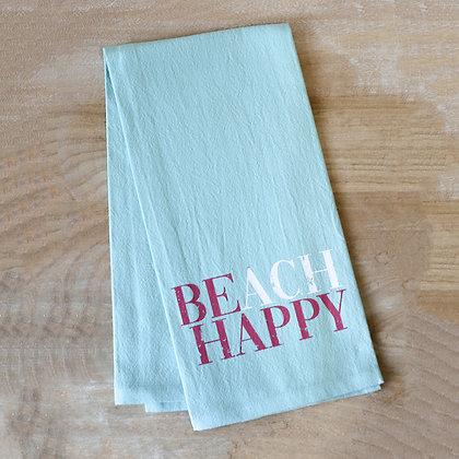 Beach Happy Kitchen Towel 20x28