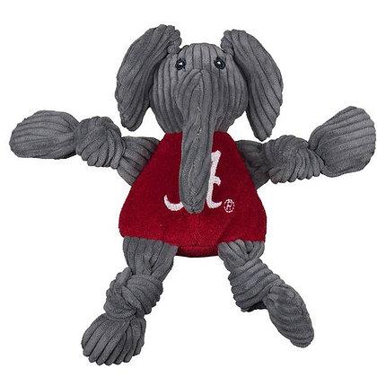 Alabama Plush Knottie Elephant