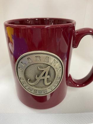 Alabama Coffee Mug Burgundy