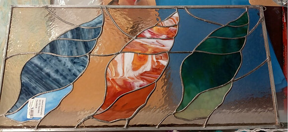 3 Shells Stained Glass
