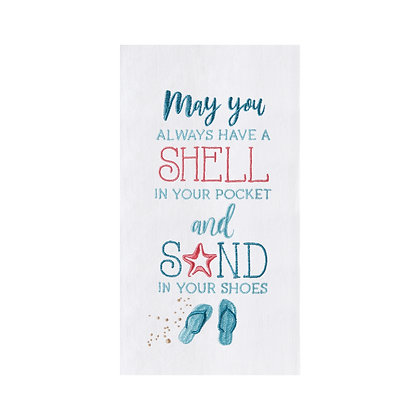 Shell in your Pocket Kitchen Towel