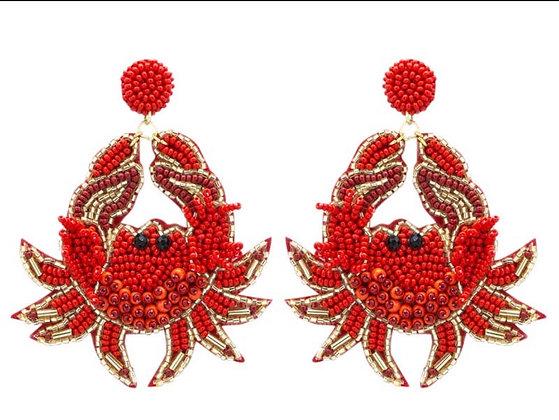 Feeling Crabby Earrings