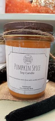 Pumpkin Spice Soy Candle - 8oz