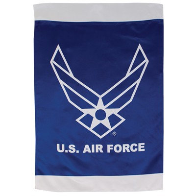 "U.S. Air Force Wings Lustre House Banner 28""x44"""