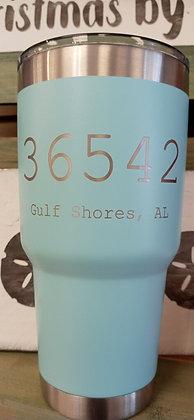 Turquoise 32 oz Gulf Shores Tumbler