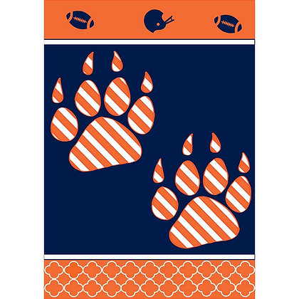 Auburn University Paw Print House Flag 29x42