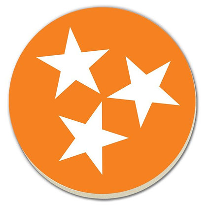 University of Tennessee Tri Star Coaster Set - 4 pack