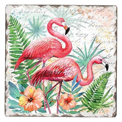 Pink Pair Coaster