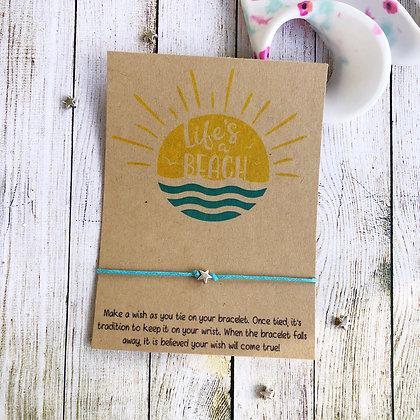 Life's a Beach Bracelet