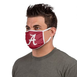 AL Crimson Red Face Mask Scrip A