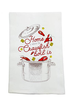 Home Crawfish Boil Towel