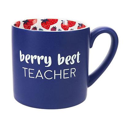 Berry Best Teacher Mug 15 oz