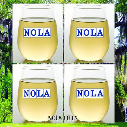 NOLA Shatterproof Wine Glass - set of 2
