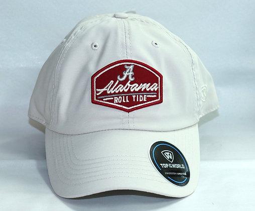 Alabama Beige Roll Tide Baseball Cap with Script A