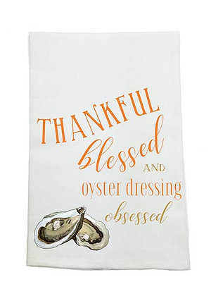Oyster Dressing Kitchen Towel