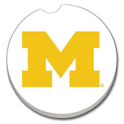 Car Coaster - University of Michigan