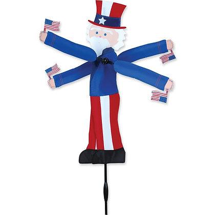 """WhirliGig Spinnger Uncle Sam 20"""""""