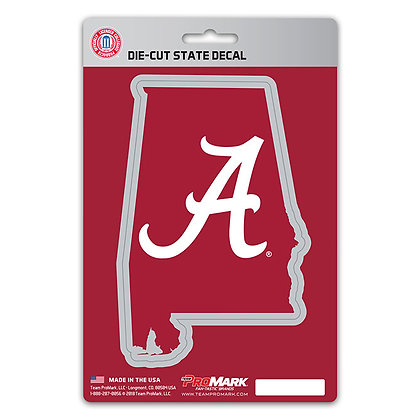 University of Alabama Home State Decal