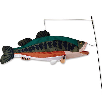 Swimming Fish - Bass 30 x 11.5