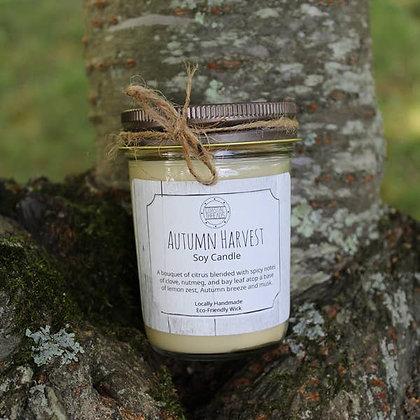 Autumn Harvest Soy Candle - 8oz