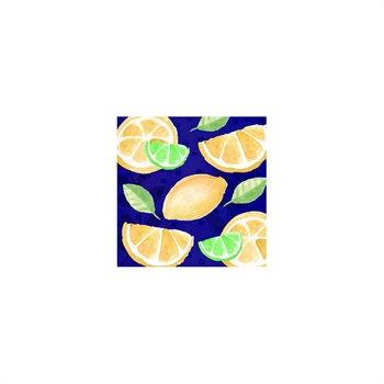 Sweet Lemon Cocktail Napkins
