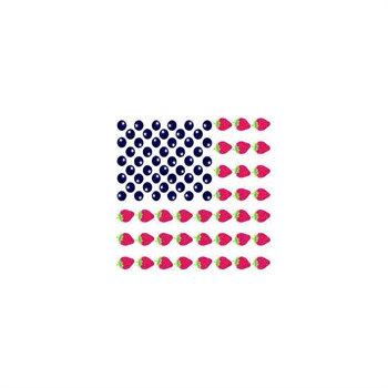 USA Dessert Flag Cocktail Napkin
