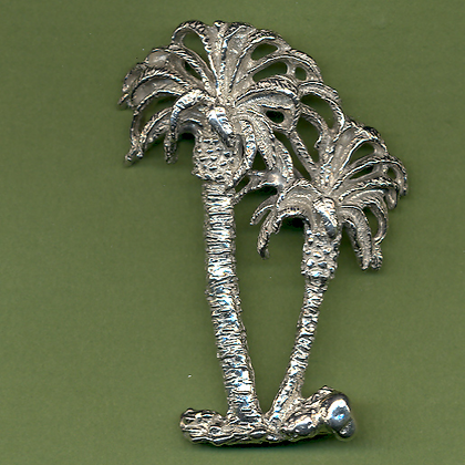 Palm Tree Pin copyright by Maurice Milleur