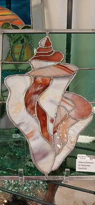 PICKUP ONLY - Sea Shell Stained Glass