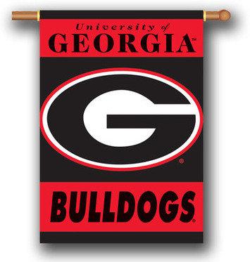 University of Georgia Bulldogs Banner 28 x 40