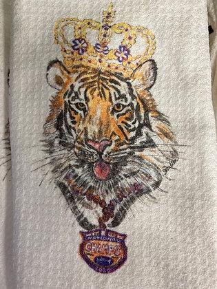 LSU Tiger Kitchen Towel