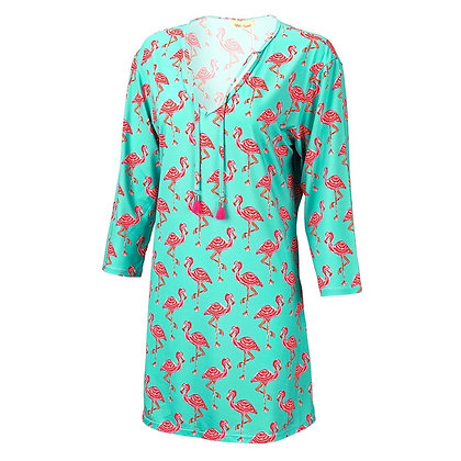 Tickled Pink Flamingo Tunic