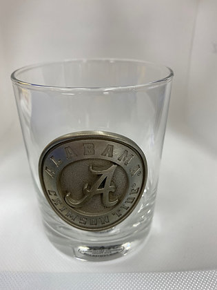 Alabama Double Old Fashion Glass