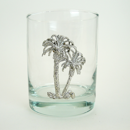 Palm Tree Tumbler 14 oz by Maurice Milleur
