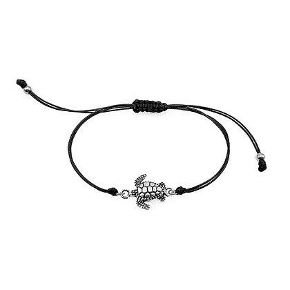Sea Turtle Ocean Jewelry - Black