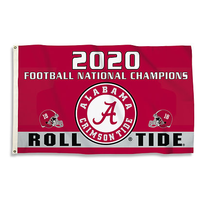 2020 Alabama National Championship Flag 3 x 5